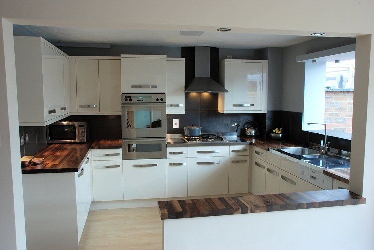 Kitchen Tiles Black Worktop large tile splashback | kitchen ideas | pinterest | countertops